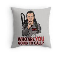 Uncle Venkman Throw Pillow