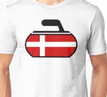 Denmark Curling Unisex T-Shirt