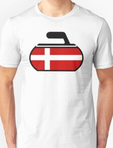 Denmark Curling T-Shirt