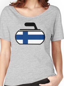 Finland Curling Women's Relaxed Fit T-Shirt