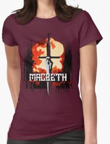 Metal Macbeth Womens Fitted T-Shirt