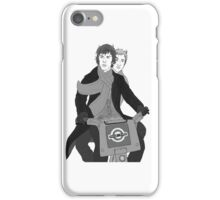 Johnlock : Pursuit iPhone Case/Skin