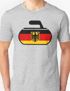 Germany Curling Unisex T-Shirt