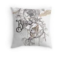Bird Strike Throw Pillow