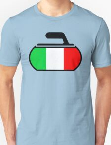 Italy Curling Unisex T-Shirt