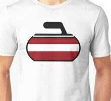 Latvian Curling Unisex T-Shirt