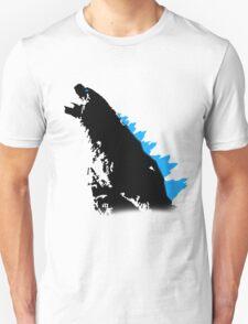 Godzilla Black and Blue T-Shirt