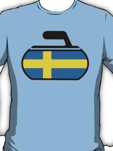 Sweden Curling T-Shirt