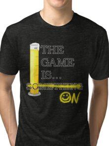 Sherlock - The game is... Tri-blend T-Shirt