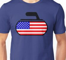 USA Curling Unisex T-Shirt