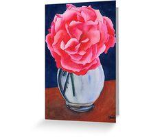 Opera Rose Greeting Card