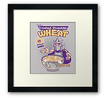 Shredder Wheat Framed Print