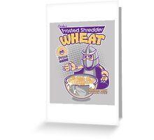Shredder Wheat Greeting Card