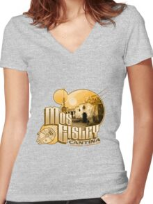 A Hive of Scum and Villany Women's Fitted V-Neck T-Shirt