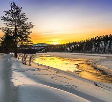 Sunrise in Arctic Norway by KarenMcDonald