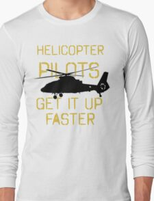 Up Faster 2 Long Sleeve T-Shirt
