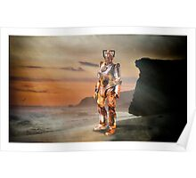 Cyberman Beach Poster