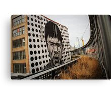 Highline art, Chelsea NYC Canvas Print