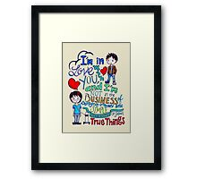 """The Fault In Our Stars (TFIOS) - """"I'm In Love With You..."""" Framed Print"""