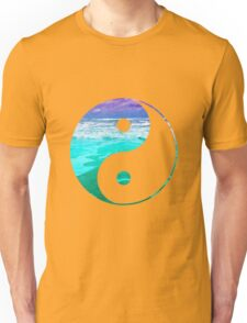 Yin & Yang (Aqua Water) Unisex T-Shirt