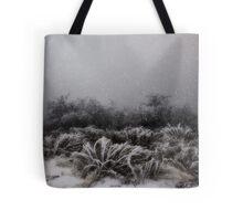 """Winter Snowstorm"" Tote Bag"
