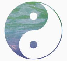 Yin & Yang- blue and purple by dare-ingdesign