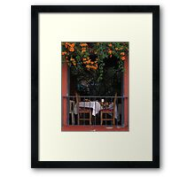 old hacienda Framed Print