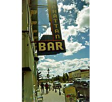 High in Leadville Photographic Print
