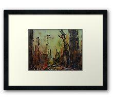 Birnam Wood II Framed Print