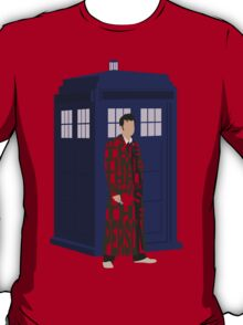 Doctor Who with TARDIS T-Shirt