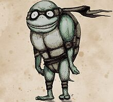 Teenage Mutant Burton Turtle by LVBART