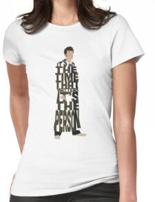 Doctor Who without TARDIS Womens Fitted T-Shirt