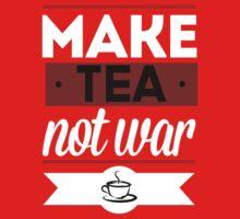 Make Tea, Not War  One Piece - Short Sleeve