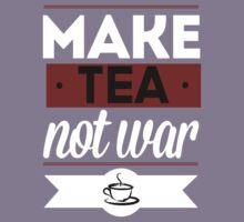 Make Tea, Not War  Kids Tee