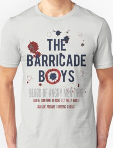 The Barricade Boys World Tour T-Shirt