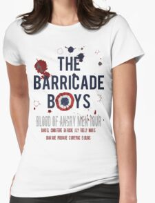 The Barricade Boys World Tour Womens Fitted T-Shirt