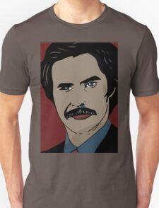 Anchorman 2 - Ron Burgundy  T-Shirt