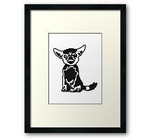 Angry Chihuahua Framed Print