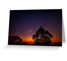 As night turned to day Greeting Card