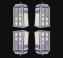 Mirrored Tardis | Doctor Who by ZenithValley