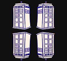 Mirrored Tardis | Doctor Who Unisex T-Shirt