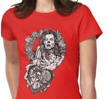 My Zombie Valentine Womens Fitted T-Shirt
