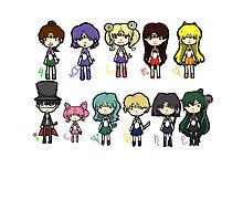 Sailor Scouts All 1 by Nothisispatrick