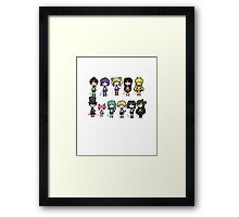 Sailor Scouts All 1 Framed Print