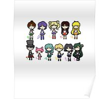 Sailor Scouts All 1 Poster