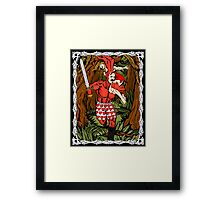 Tales of the Bunny-Man Centerfold Framed Print