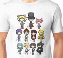 Sailor Scouts All 2 Unisex T-Shirt