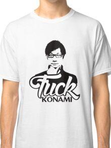 Hideo Kojima F*CK KONAMI Classic T-Shirt