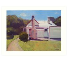 Old settler's cottage, Port Arthur, Tasmania  Art Print