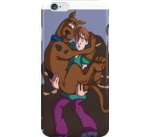 scooby doo and shaggy iPhone Case/Skin